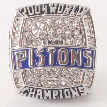 NEW!! 2004 Souvenir Ring For Pistons Billups Champion Basketball Ring Free Shipping