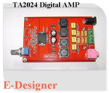 NEW Tripath DIY Audio TA2024 PCB Stereo Amplifier Board
