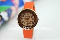 DDT075 Hot watch fashion watch orange woman watch lady clock