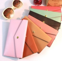 The new Korean version of the envelope long wallet female models wallet card pack 426 free shipping