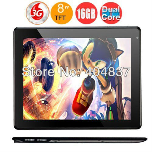 dhl ems free shipping 8&quot; android 4.1 rk3066 dual core 1gb/16gb wifi hdmi BT built in 3g pipo s2 tablet pc 1024*768 screen black(China (Mainland))