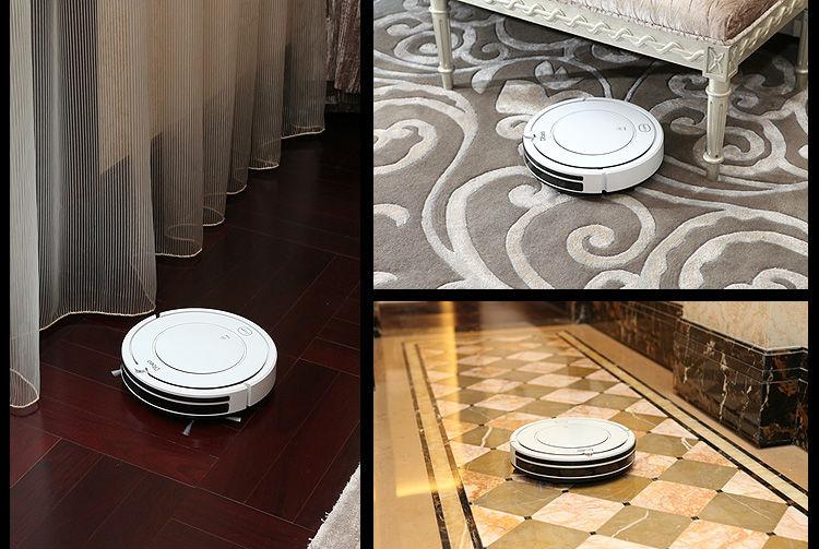 CE CB RoHS Quality Smart Intelligent Mini Robot vacuum Cleaner, Touch Button,Schedule Work,Auto recharging
