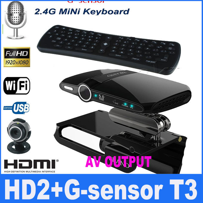 DH2 TV BOX Receiver Android 4.0 Mini PC AllWinner A10 1G / 8G Built-in 5.0MP Camera Mic HDMI AV Output with Stand and t3 mouse(China (Mainland))