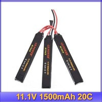 GE Power RC 11.1V 1500mAh 20C Mini Battery AKKU Discharge for Helicopter Plane+free shipping