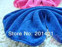 hot sale 40 * 60cm Car Care microfiber cleaning cloth, super absorbent, factory price 25pcs/lots