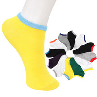 Men's socks sports socks slippers candy color male socks short Ankle socks ,Free shipping