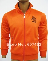 Holland nation team thailand quality jacket SOCCER jacket embroidery logo, top quality  lowest price,fast shipping+free gifts