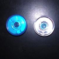 20mm tear off cap, aluminum cap, bottle cap, blue color