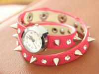 "Наручные часы Kang price ""Leopard Ladies Fashion Leather watch Movement to Restore Ancient ways students punk wrist watch"