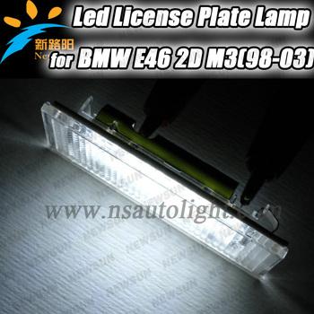 2013 Newest version led license plate light, super brightness license light  for BMW E46 M3(98-03)