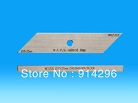Stainless Steel 010-25mm  two bar W.P.T.S weld gauge for under cut gage/welding gage