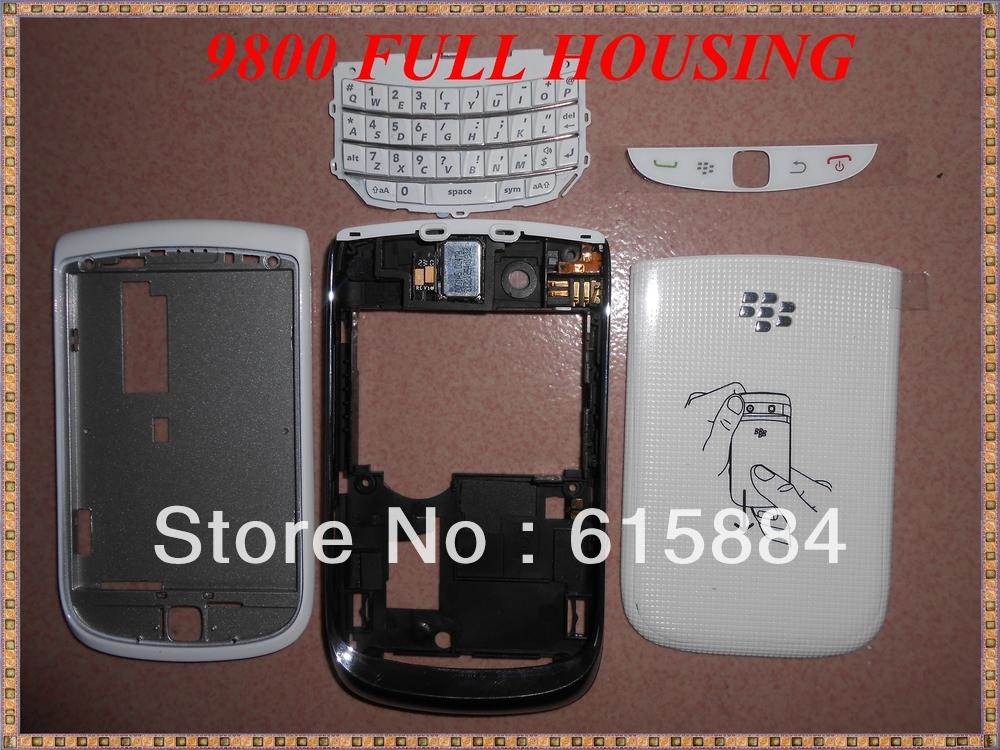 100% The original Full Housing accessory For Blackberry 9800(China (Mainland))