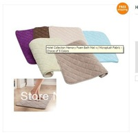 Hotel Collection Memory Foam Bath Mat w/ Microplush Fabric