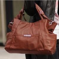 Hotselling new 2014 fashion women leather handbag genuine leather women handbag Wpkds messenger handbag shoulder bag