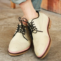 2013 spring and summer new arrival brockden british style shoes carved men's leather aa28-p165