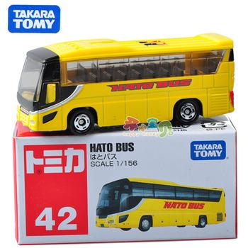 Dume tomy card car model pocket-size alloy car model mini toy car bus 42