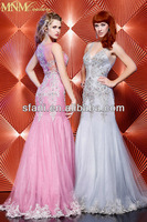 9029 sheath tulle appliques formal evening dress with beading