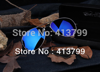 2013 high quality fashion casual anti-UV the polarized reflective sunglasses for men/women.Wholesale eyewear/spectacles.4 colors