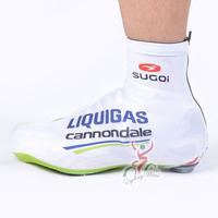 2012 tour de france LIQUIGAS pro team bike bicycle shoe covers, windstopper & waterproof cycling shoe covers