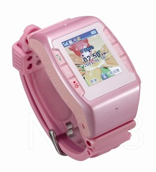 Brand New Touch Screen Quadband Pink Brand New N688 Wrist Watch Mobile Cell Camera Phones MSN/Facebook/Twitter/Skype/Yahoo(China (Mainland))