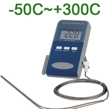 2pcs digital food Thermometer W/ probe for Oven/Grill/BBQ Meat/Steak kitchen cooking free shipping