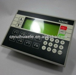 Xinjie integrated all in one PLC unit,LCD screen,spare part to wrapping machine 4505(China (Mainland))