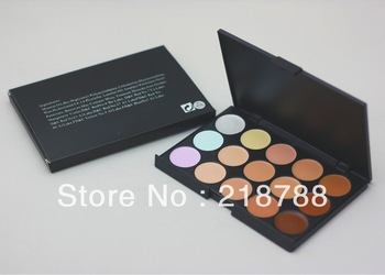 Free ems/dhl wholesale 20pcc/lot  Brand name M15 Color Concealer Make Up Palette Set good quality