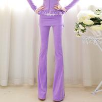 2013 spring new arrival velvet belt skirt slim trousers