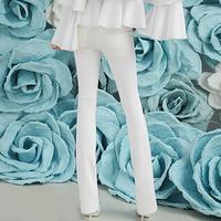 2013 spring modeling low-waist tight-fitting bell-bottom elegant women's trousers