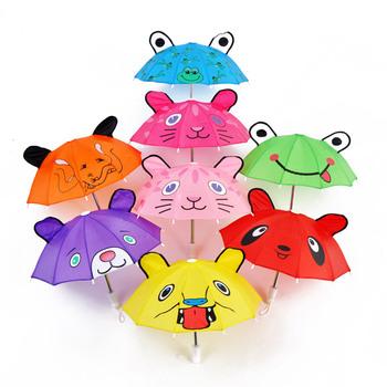 freeshipping Toy child cartoon umbrella sun protection umbrella silk umbrella oiled paper multicolor