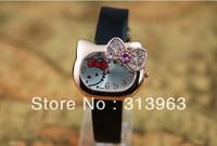 DDT084 Hot watch fashion watch black cat watch lady clock