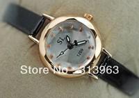 DDT086 Hot watch fashion watch black creative watch lady clock