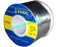 FREE Shipping 2 Rolls/lot Japan SANKI  Resin Cored Dia 0.3mm soldering lead wires/welding wire Sn60/Pb40 lead soldering wire