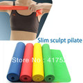 Yoga Stretch Fitness Resistance Bands Tension Brought  for  Pilates Training free shipping(China (Mainland))