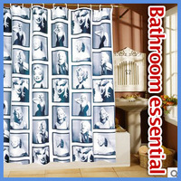 Marilyn / Marylin Monroe Polyester Shower curtain 180x180cm Send 12 hook