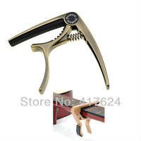 New Brass Alloy Electric & Acoustic Guitar Quick Change Tirgger Capo Clamp Key, free shipping