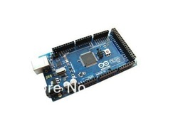 Mega 2560 ATMEGA8U2 ATmega2560-16AU Board For arduino + USB Cable Free shipping! Best prices(China (Mainland))