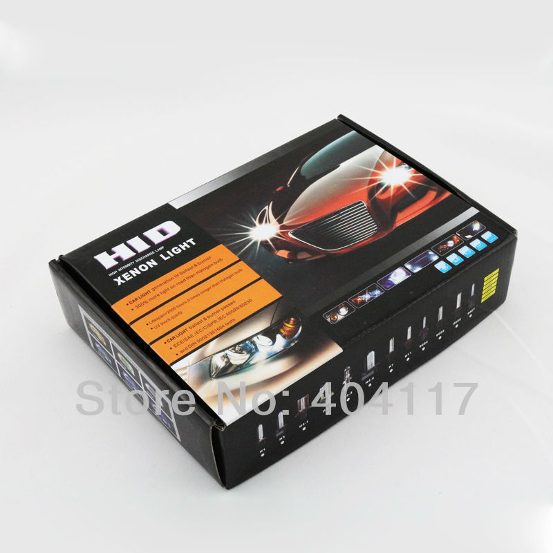 1 SET 35W HID BI-XENON Conversion bulb Kit H4 9004 9007 H13 High&Low Dual Beam Ship with in two days,low price ,high quanlity(China (Mainland))