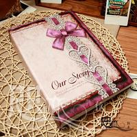 Free shipping big  6inch albums 4D creative gift interstitials album pocket album baby album