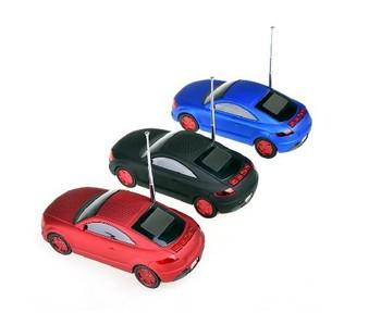 Car model mini audio portable card usb flash drive radio mp3 player speaker
