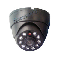 "1/3 "" 600TVL 10 cup LED with IR-CUT Color Night Vision Indoor security CMOS IR CCTV Camera +Free Shipping+gift"