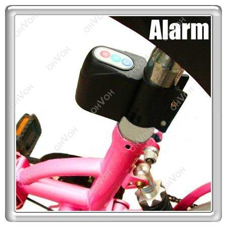 Hot! mini Alarm Security Bicycle Steal Lock Bike Bicycle alarm, Freeshipping, dropshipping(China (Mainland))
