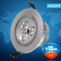 Led spotlight high bright 3w high power full set of energy saving lamp background wall