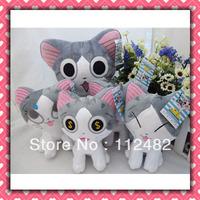Free shipping chis cats 18cm plush doll set 40pcs/lot Soft plush Toys wholesale