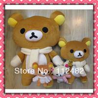 Free shipping Rilakkuma plush doll 18cm mix 50pcs/lot Soft plush Toys