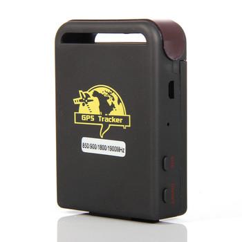 Mini Real Time Personal GSM GPRS GPS Tracker TK-102B TK 102 B For Car Kids, Free & Drop Shipping