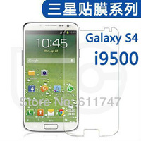 Galaxy S IV Anti-glare clear Screen Protector For Samsung Galaxy S4 i9500 ,With Retail Package+100/lot,free shipping