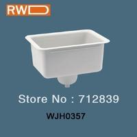 Laboratory furniture PP mid size white color wash basin  WJH0357