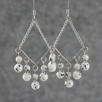 Tassel earrings bodhi stone tibetan jewelry long design earrings drop earring earrings accessories