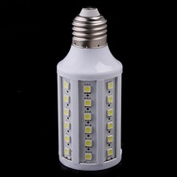 E27 Ultra Bright 9W Cool White 60LED 5050 SMD LED Ceiling Light Energy Saving LED corn light Free Shipping HOT Selling